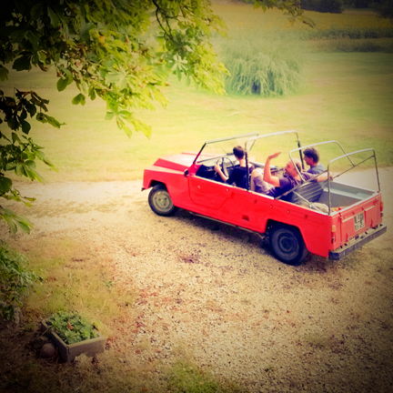 Rodeo car